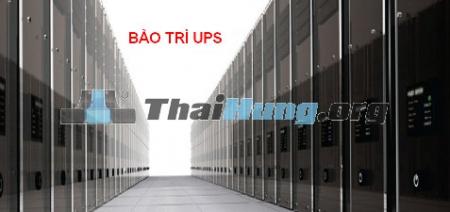 Thay ắc quy cho UPS